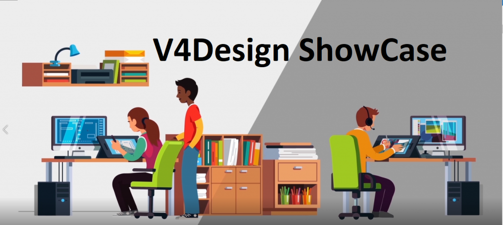 New promotional video for V4Design