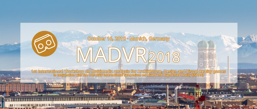 V4Design is organizing MADVR 2018
