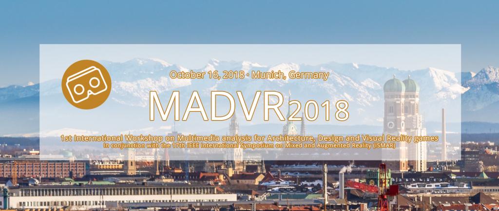 V4Design is organizing MADVR 2018