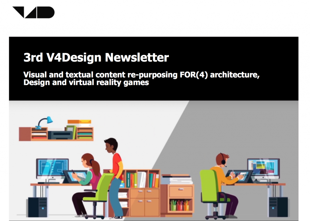 3rd V4Design Newsletter (September 2018)
