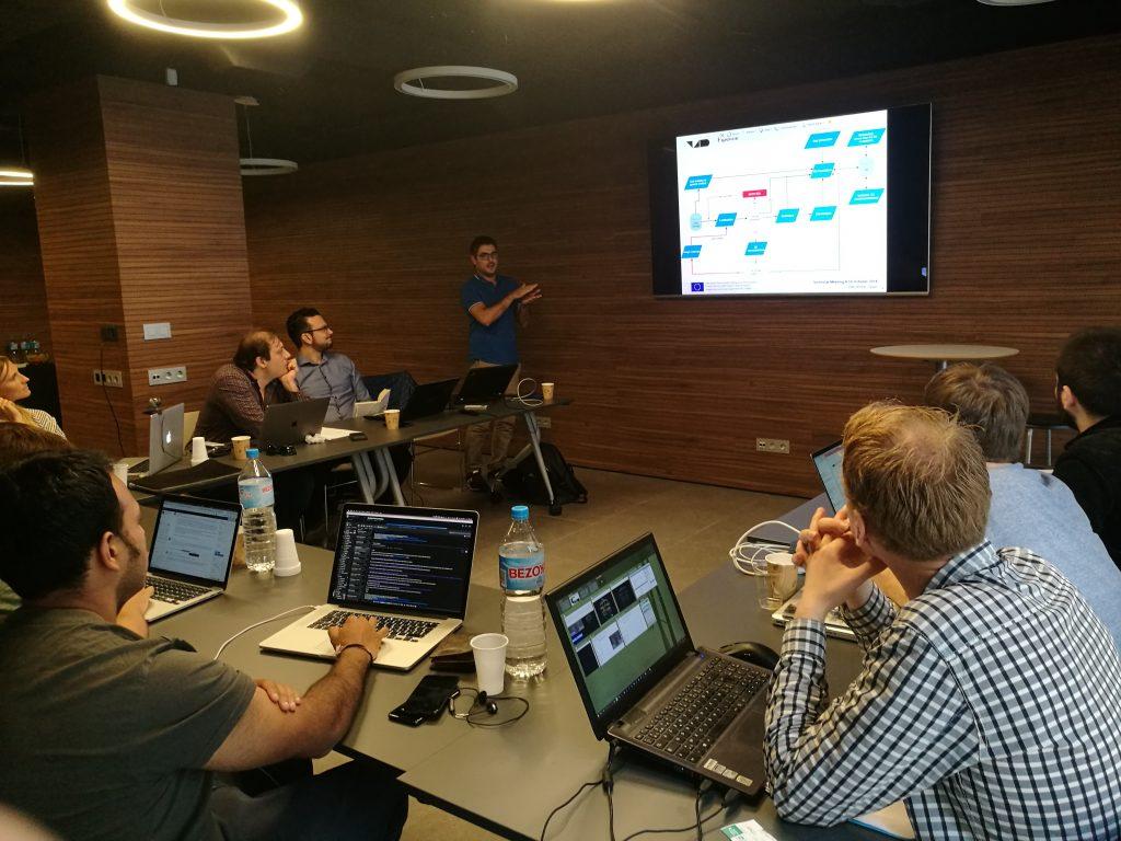 V4Design technical workshop in Barcelona