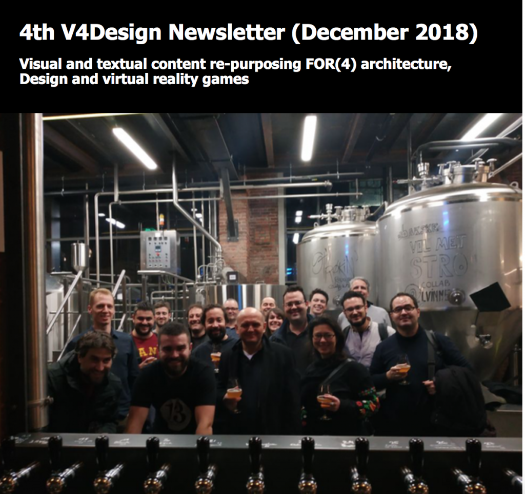 4th V4Design Newsletter